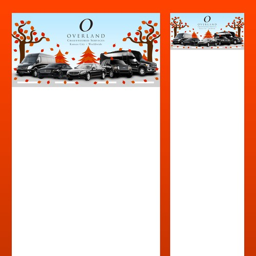 Email header and footer banners for a Thanksgiving letter