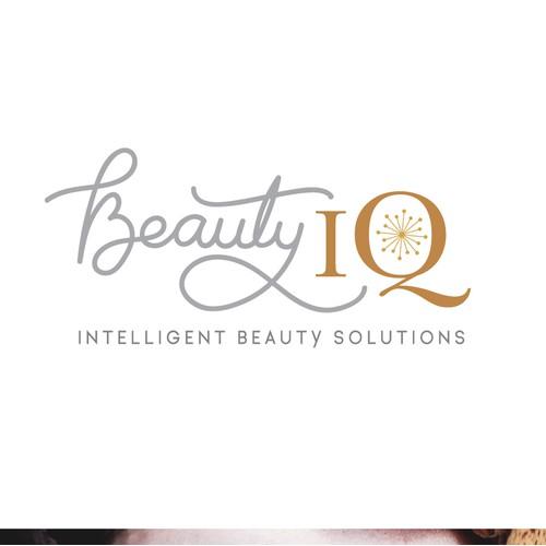Handdrawn Typography- Beauty IQ