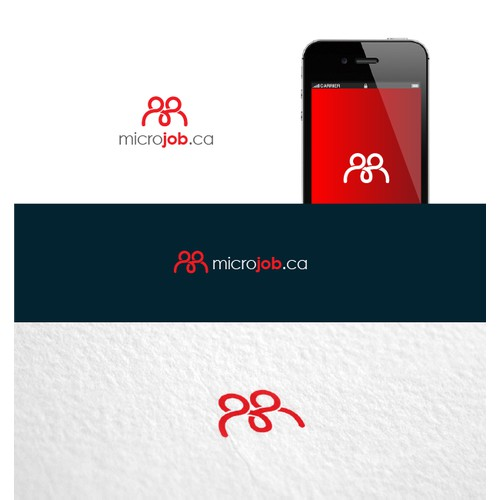 Exciting new logo for Microjob.ca