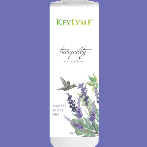Beauty Product Label