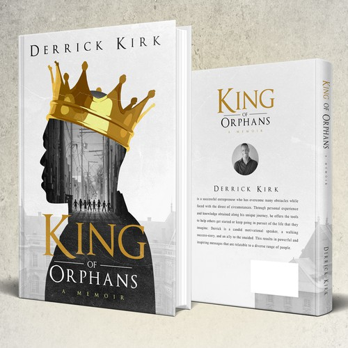 """Book cover for """"King of Orphans"""""""