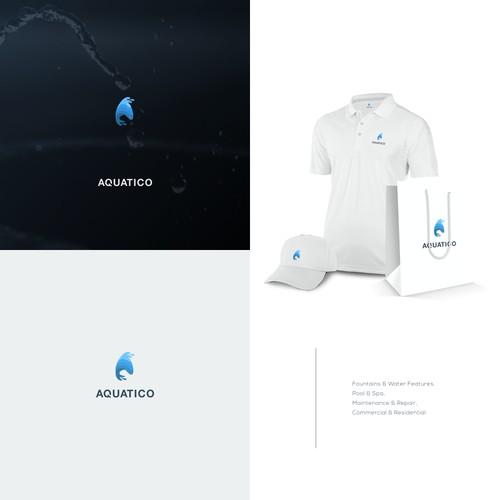 Logo for Aquatico New Business Logo