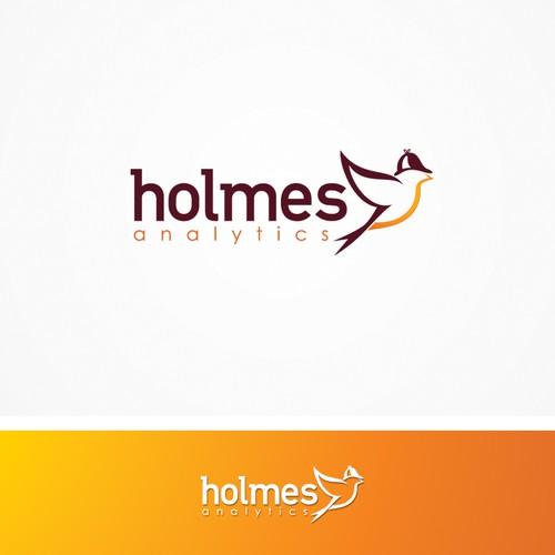 Logo design for Holmes analytics