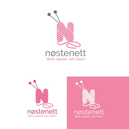 Logo design for knitting yarn and accessories