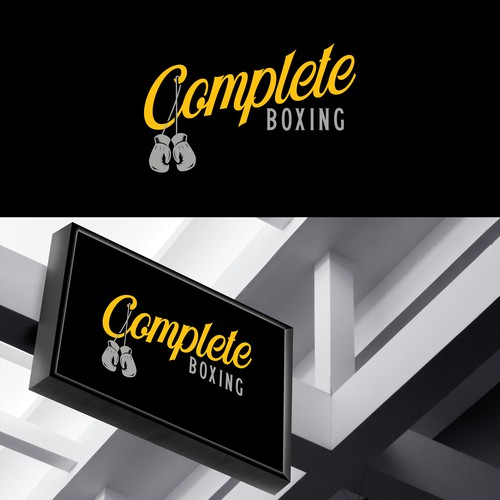 Complete Boxing Logo Concept