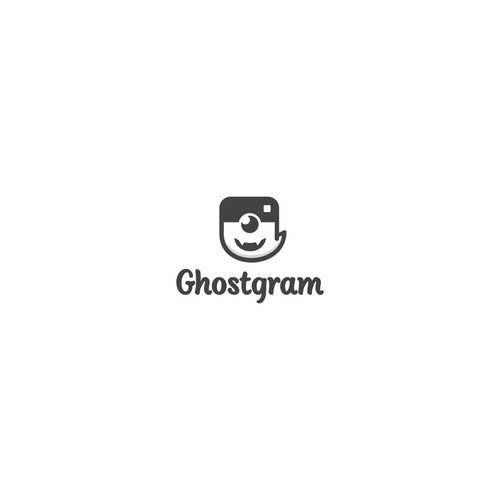 character logo for ghostgram