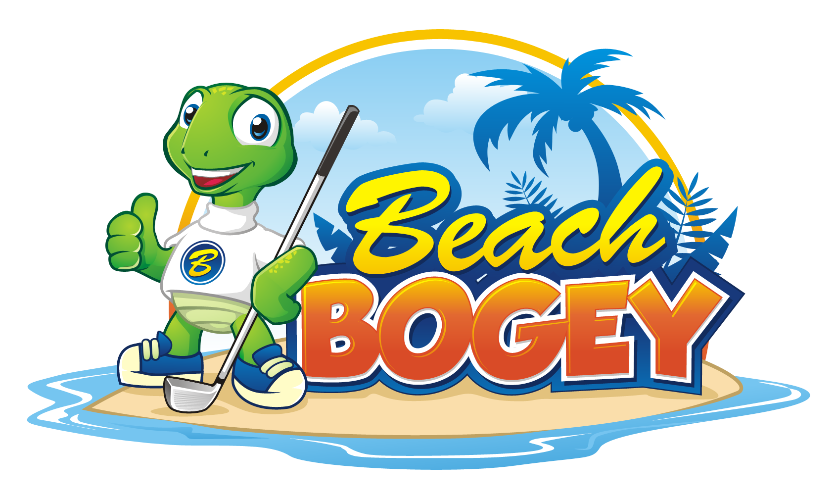 Fun, Energetic, Playful logo needed for new Beach Bogey game.