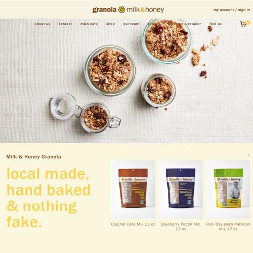 Milk and Honey Granola