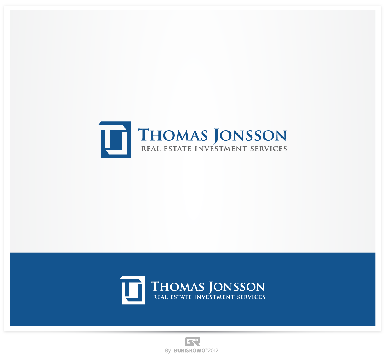 Help Thomas Jonsson real estate investment services with a new logo