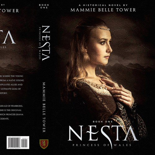 Nesta, Princess of Wales, historical novel