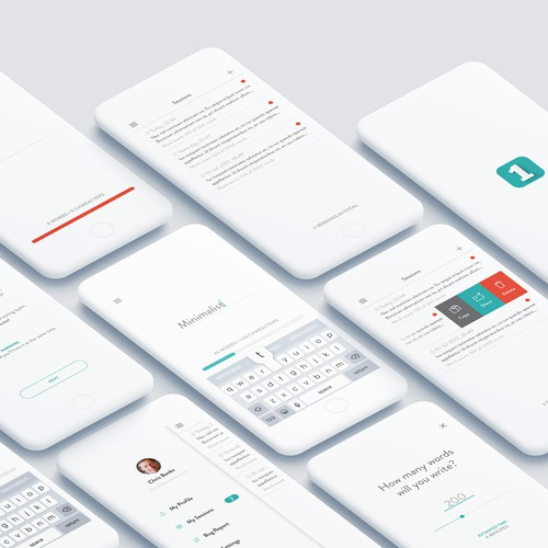Minimalist Writing App