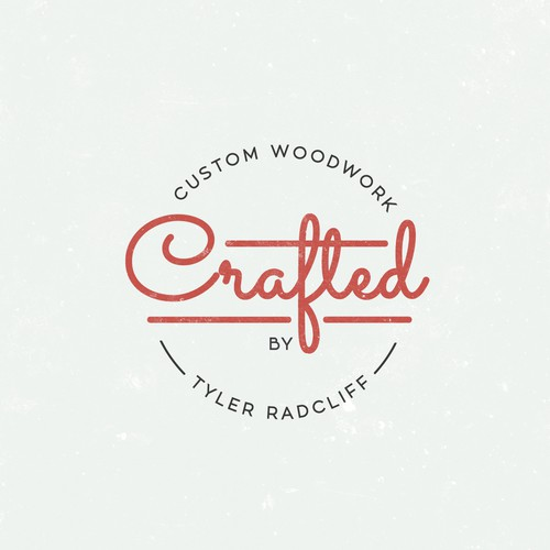 A handcrafted logo for a handcrafted company