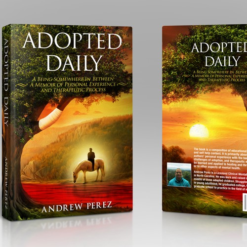 Book cover for adopted daily