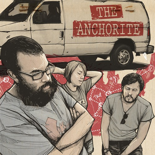 Design Poster for Upcoming Movie Release, THE ANCHORITE.