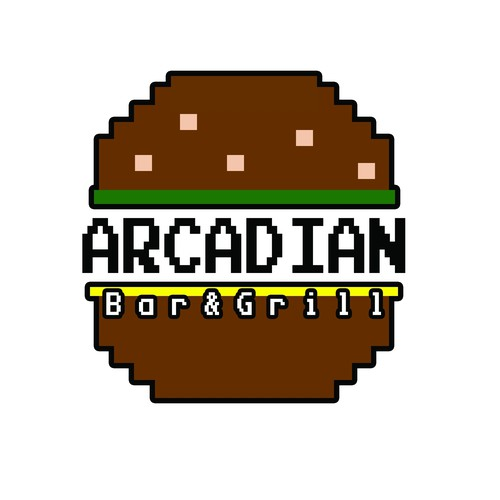 Fun logo for Bar/Arcade