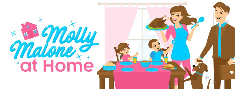 Molly Malone At Home Facebook page cover