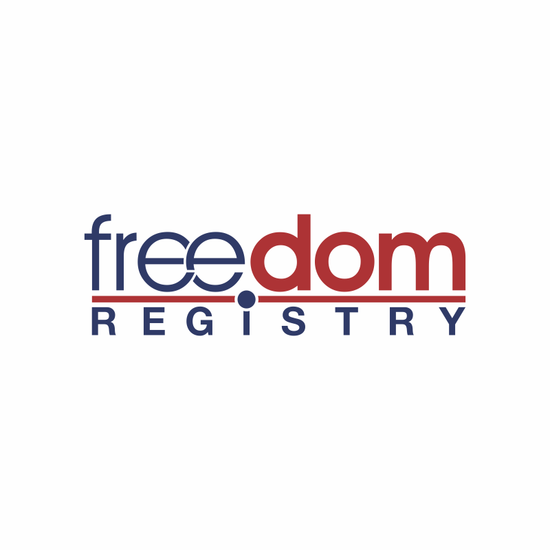 Freedom Registry, Inc. needs a new logo