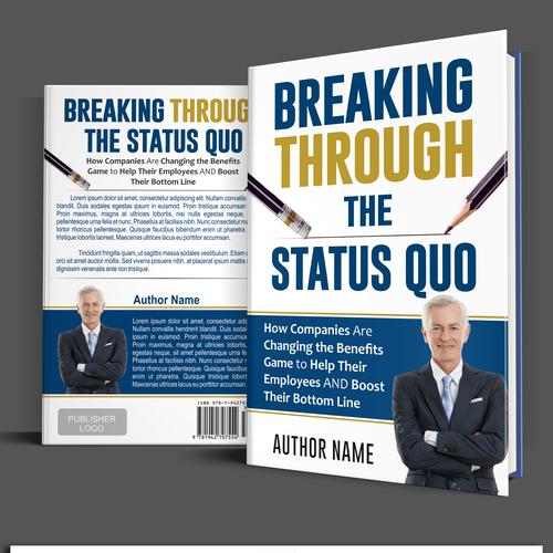 Need disruptive cover design for disruptive business book