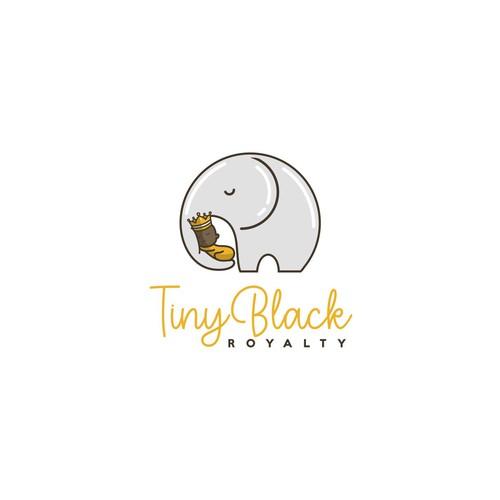 tiny black