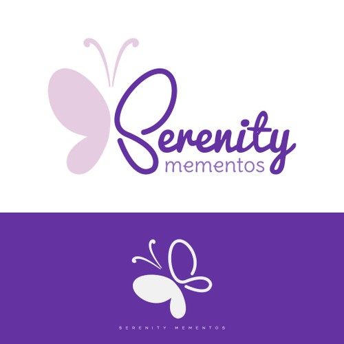logo for Serenity Mementos