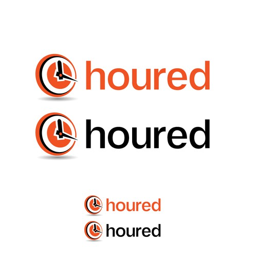 Logo for the web app 'houred'