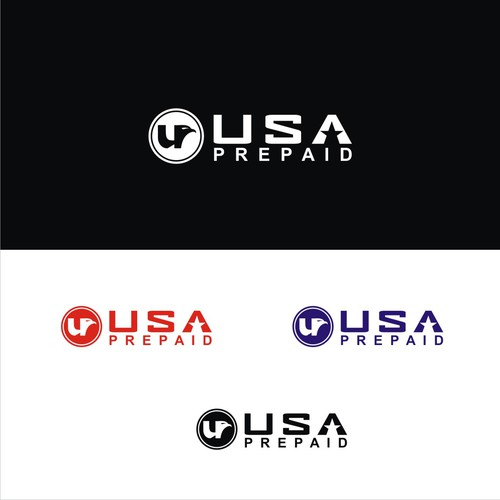 Be free, be innovative, be original and create our new USAPREPAID.com logo for our new webshop.