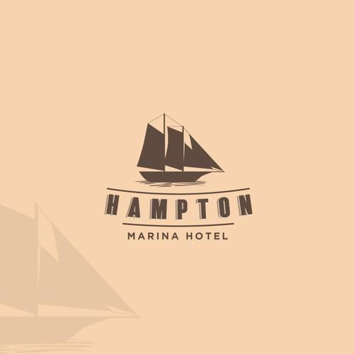vintage concepts for Hampton Marina Hotel