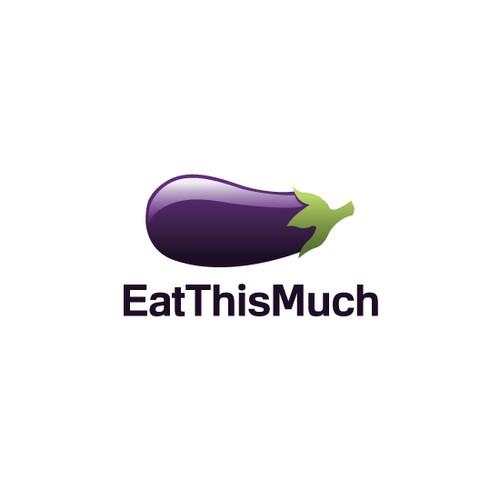 Logo concept for EatThisMuch