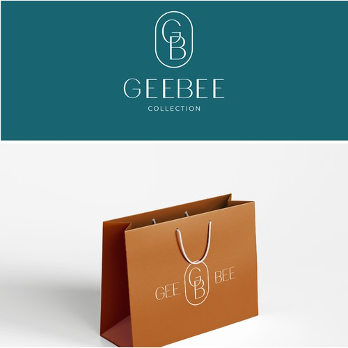 Logo for the GeeBee brand currently producing swimwear for women.