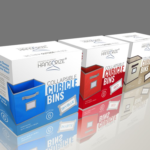 Packaging for storage boxes
