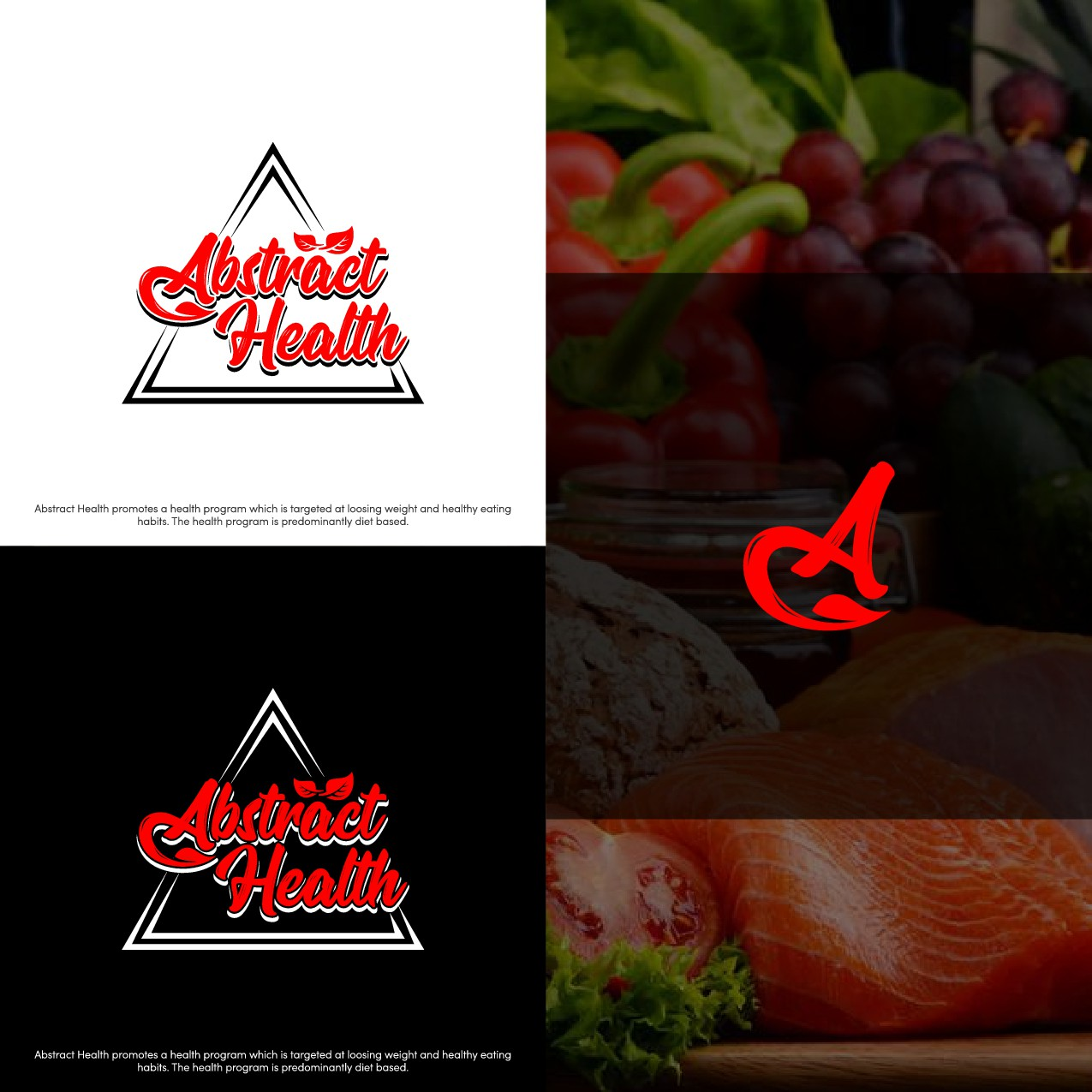 Logo and Website for a Health and Weight Loss Program