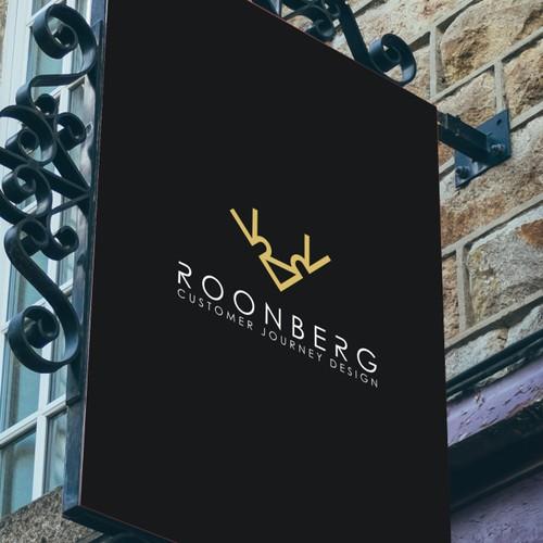 Bold logo concept for Roonberg