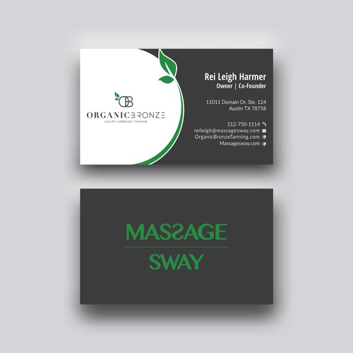 Unique spa Business card