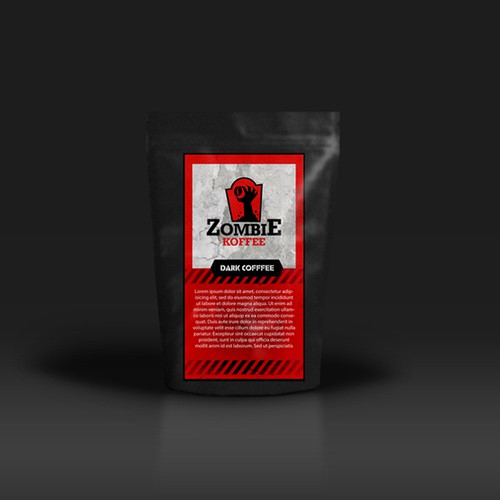 Logo Design Proposal for the brand Zombie Coffee