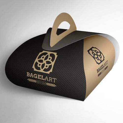 Bagel Art logo design