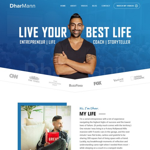 Dhar Mann Personal Website