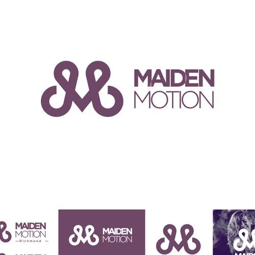 Logo for woman gym.