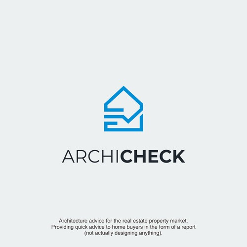 Logo concept for Archicheck