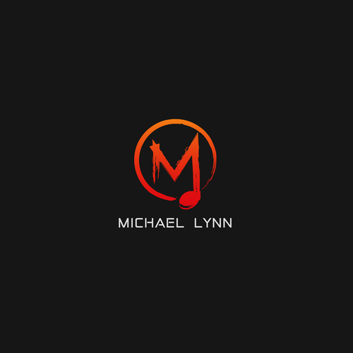 Abstract logo concept for michael lynn