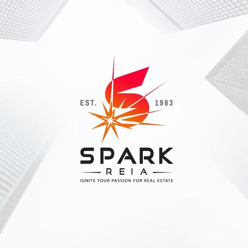 Bold logo for Real Estate Association