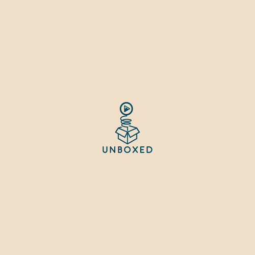 Logo concept for Unboxed