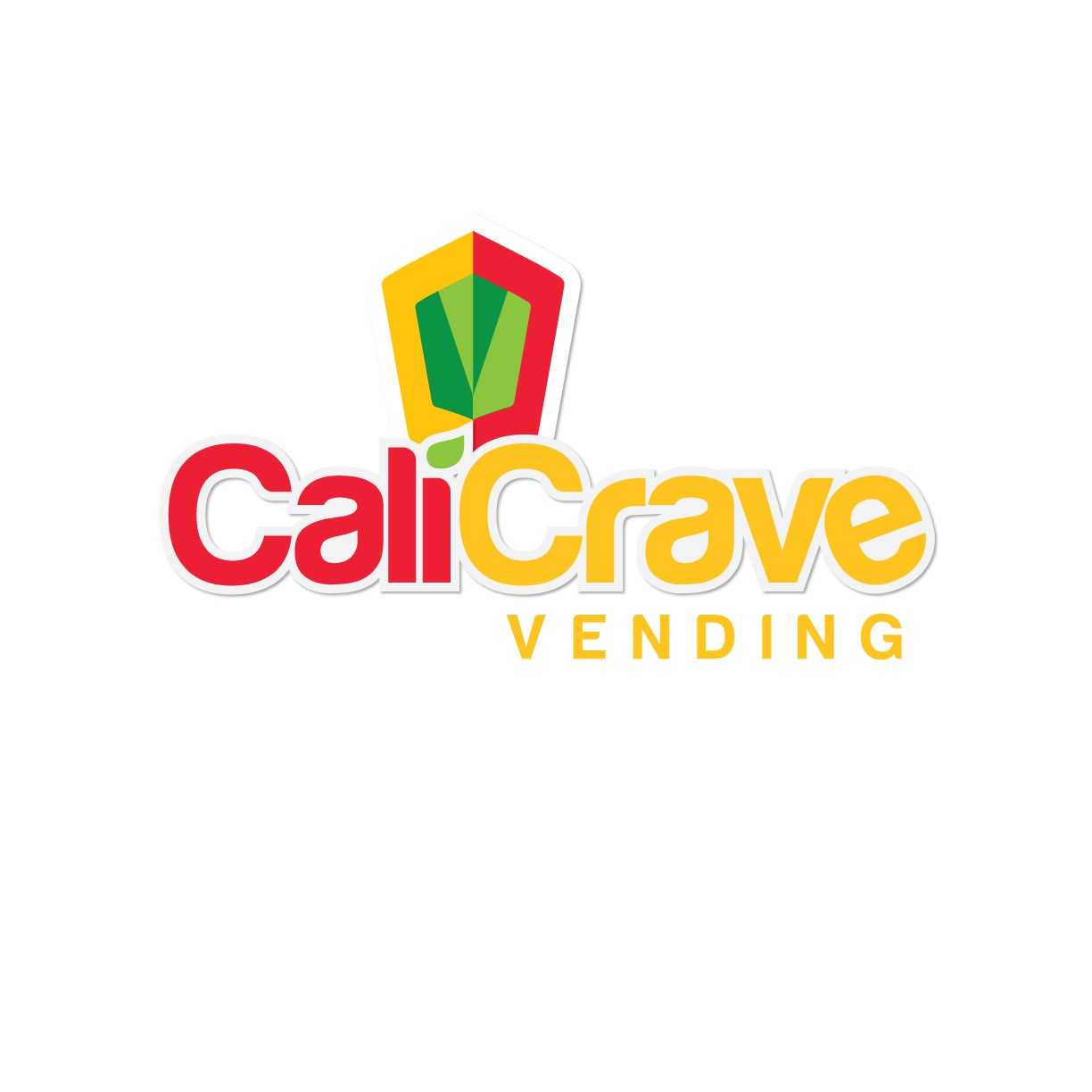 Cali Crave Vending need Logo for healthy vending machine business that catches eye