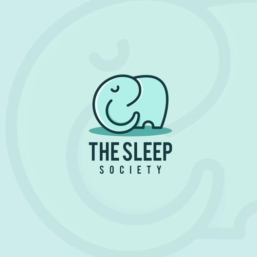 The sleep society logo