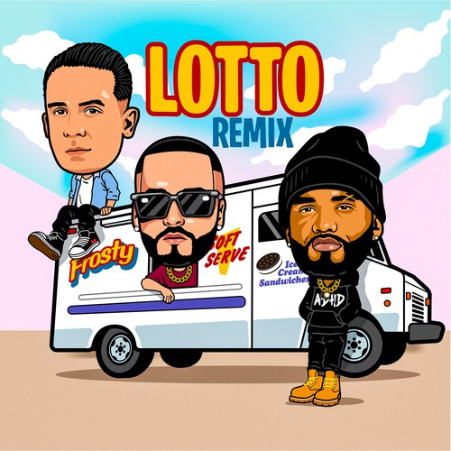 Official Lotto Remix Cover Art & Animation