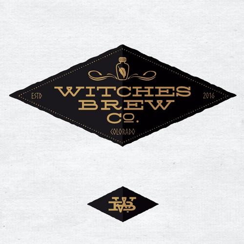 logo concept for a tea Co. located in Colorado