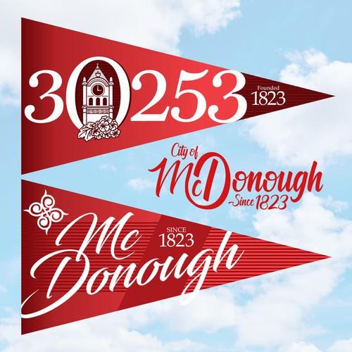 Flag design for McDonough