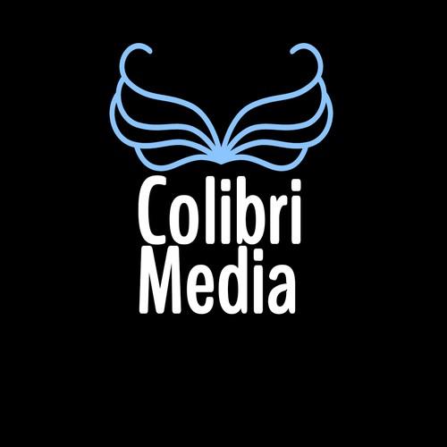 Concept logo entreprise de média