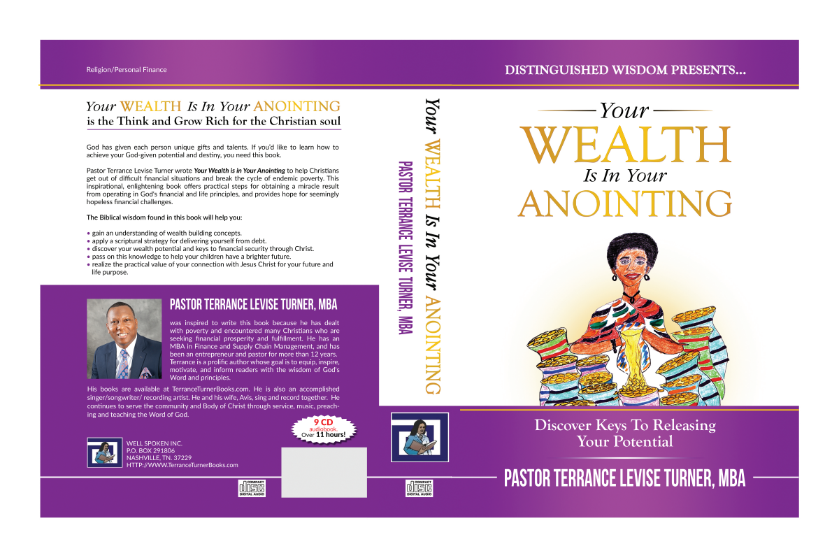 "DVD case/CDs/USB's-""Your Wealth Is In Your Anointing""-audiobook"