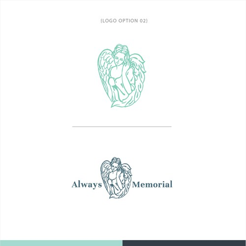Logo design for a funeral service provider