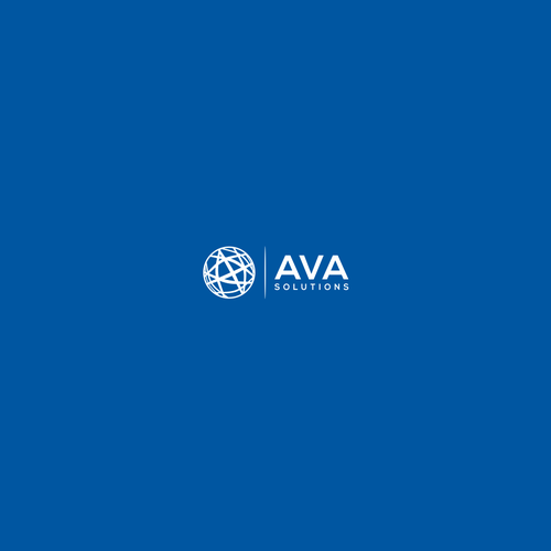 "Create a logo for a legal-tech startup called ""AVA Solutions"""